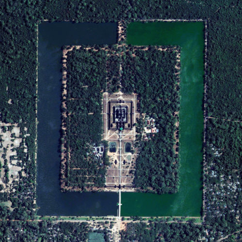 Angkor Wat daily overview