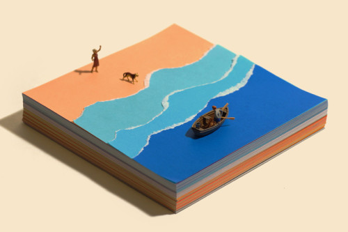 miniature calendar tatsuya tanaka sea