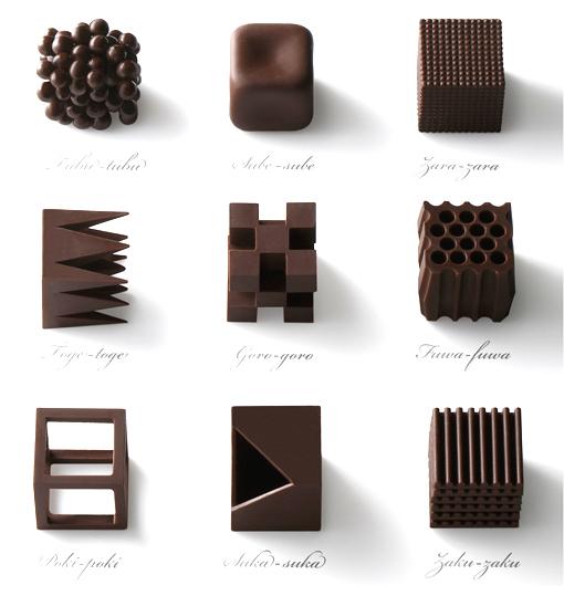 chocolatexture by Nendo