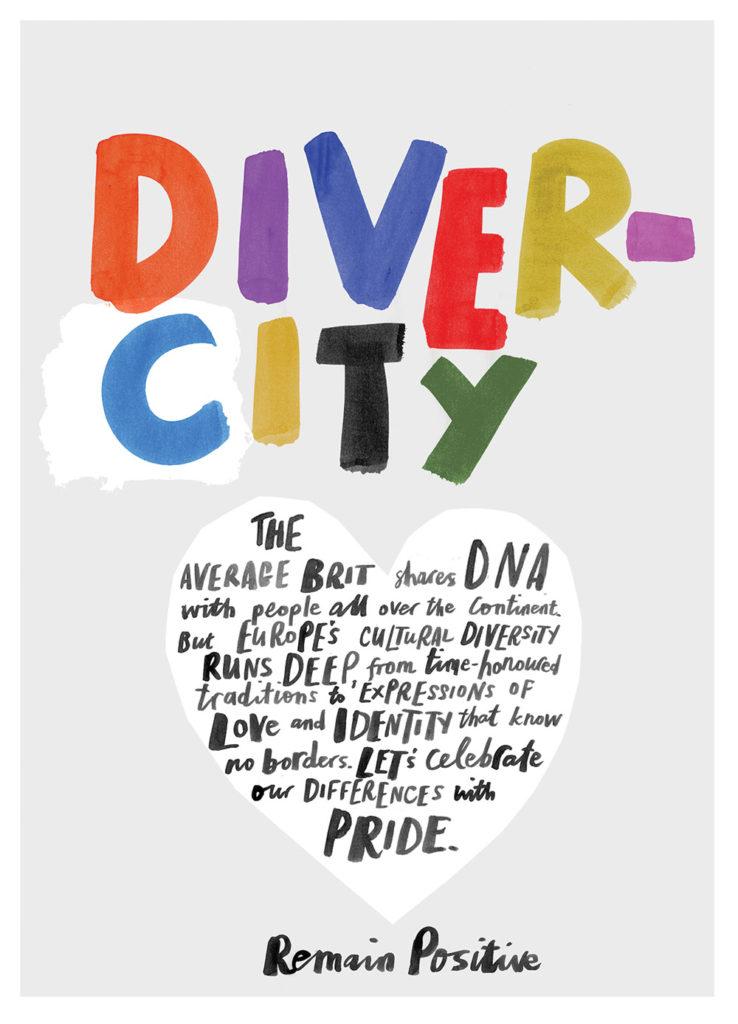 Diversity Marion Deuchars Remain positive