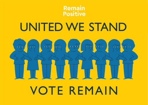 United We Stand Remain positive