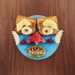 Food Faces, a fun art/cook book