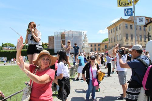 Pisa tourists Seta Zakian
