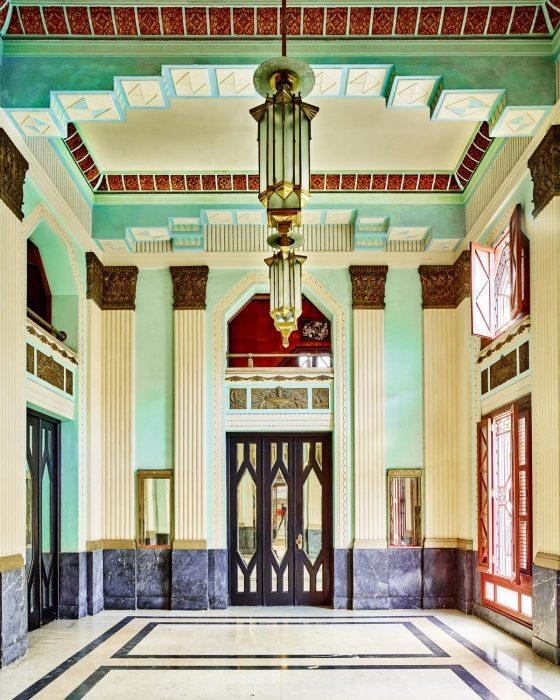 Art Deco lobby Havana Cuba 2014 David Burdeny