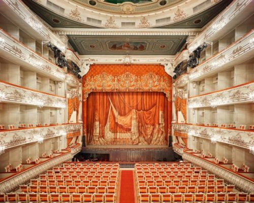Mikhailovsky Theatre Curtain St Petersburg Russia 2014 David Burdeny