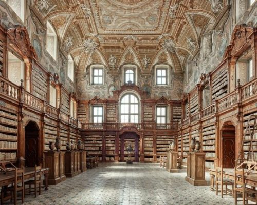 Reading Room Napoli Italy 2016 David Burdeny