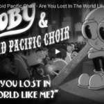 The animation for Moby's music video