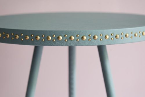 slideshow stud side table jade Bethan Gray,