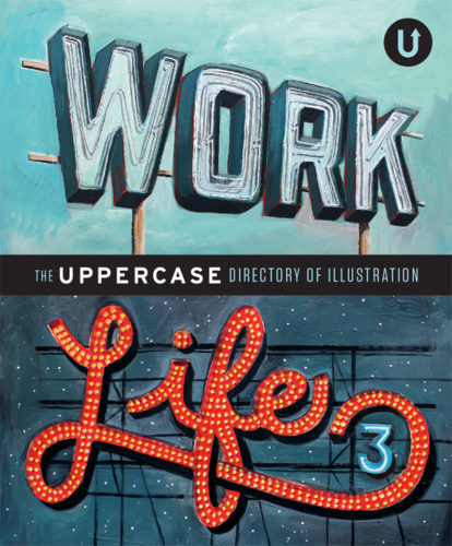 Work/Life: Cover illustration for a book jeff rogers