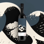 Ploes wine label by Beetroot