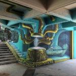 Street art by WD