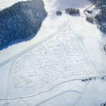 Grand scale mountain art