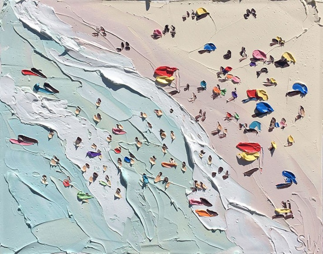 Beach paintings by sally west setaprint an archive for for Tumblr painting art