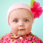 Baby fashion photography