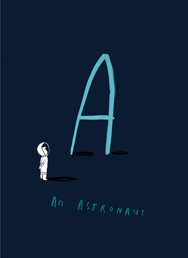 Once Upon an Alphabet 4, Oliver Jeffers
