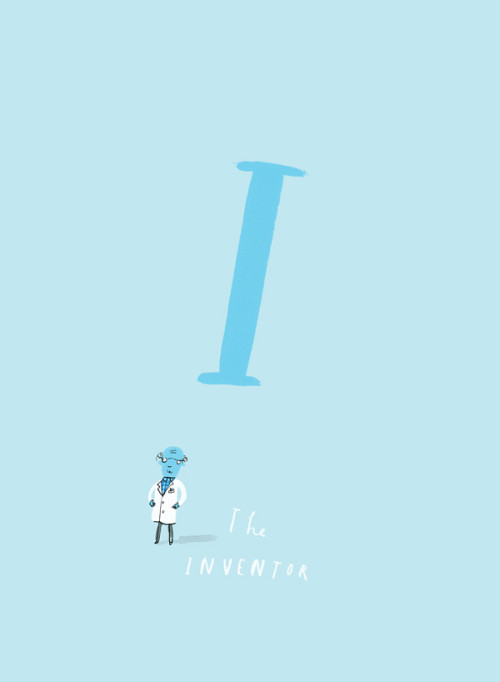 Once Upon an Alphabet 5, Oliver Jeffers