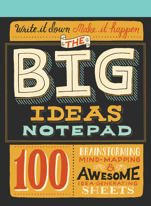 Mary Kate McDevitt Big Ideas notebook