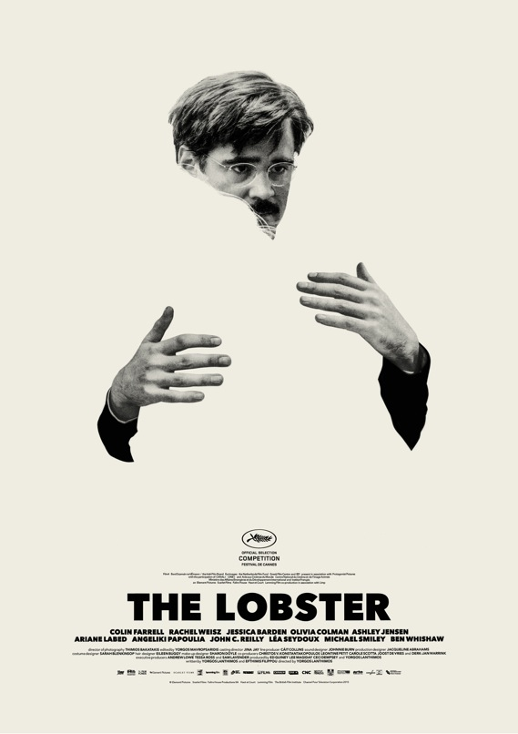 Colin Farrell, The lobster poster
