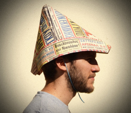 Paper hat, Greece Revisited