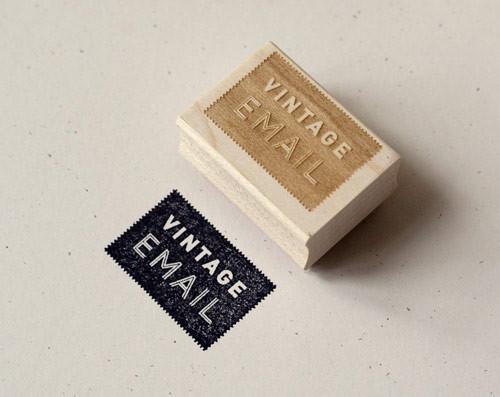 Vintage Email stamp2