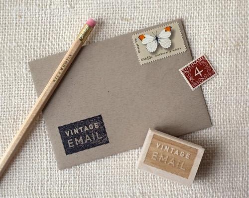 Vintage Email stamp 3
