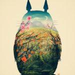 Totoro art print by Victor Vercesi