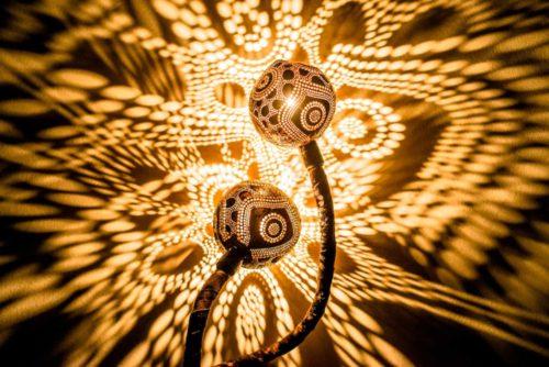 Kubilius coconut lamps1