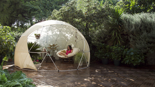 Garden Igloo 360-open