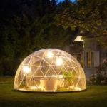 A garden igloo