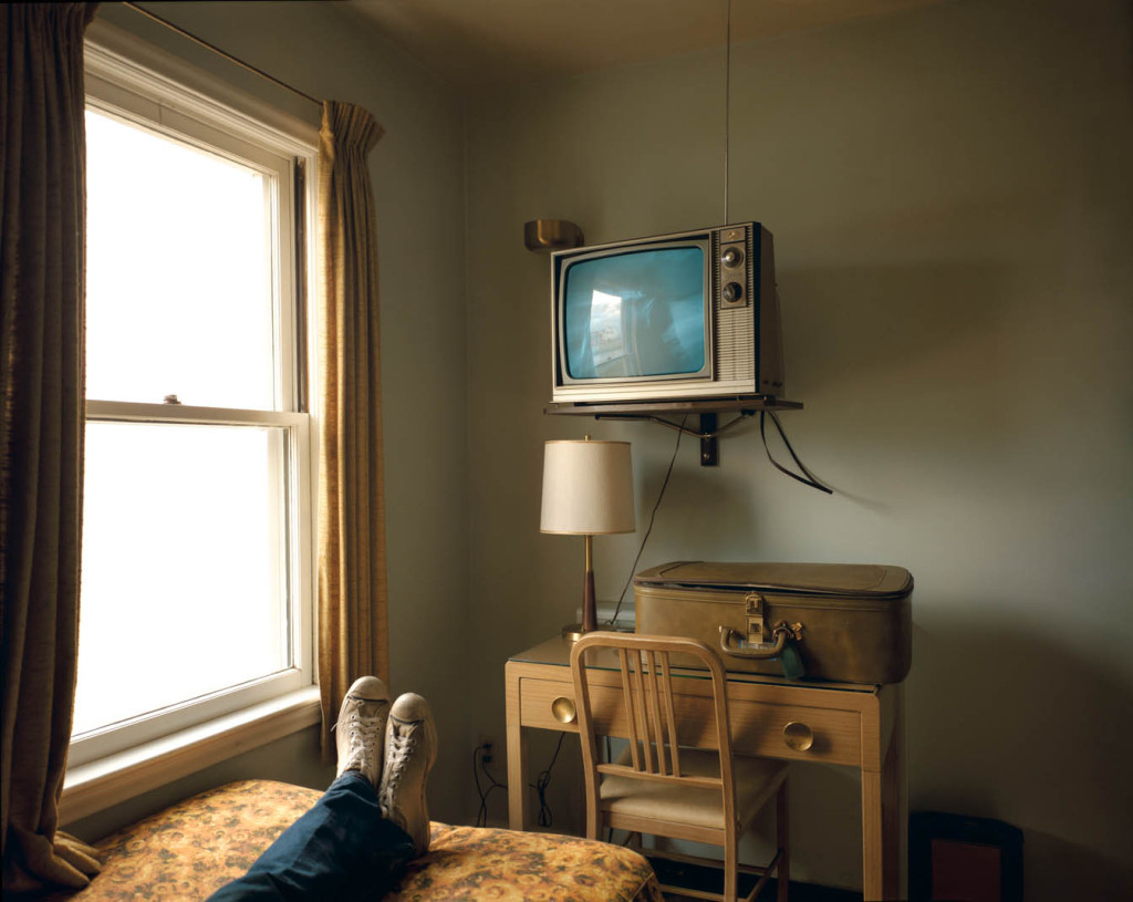Stephen Shore, TV, room, retro photography, United States