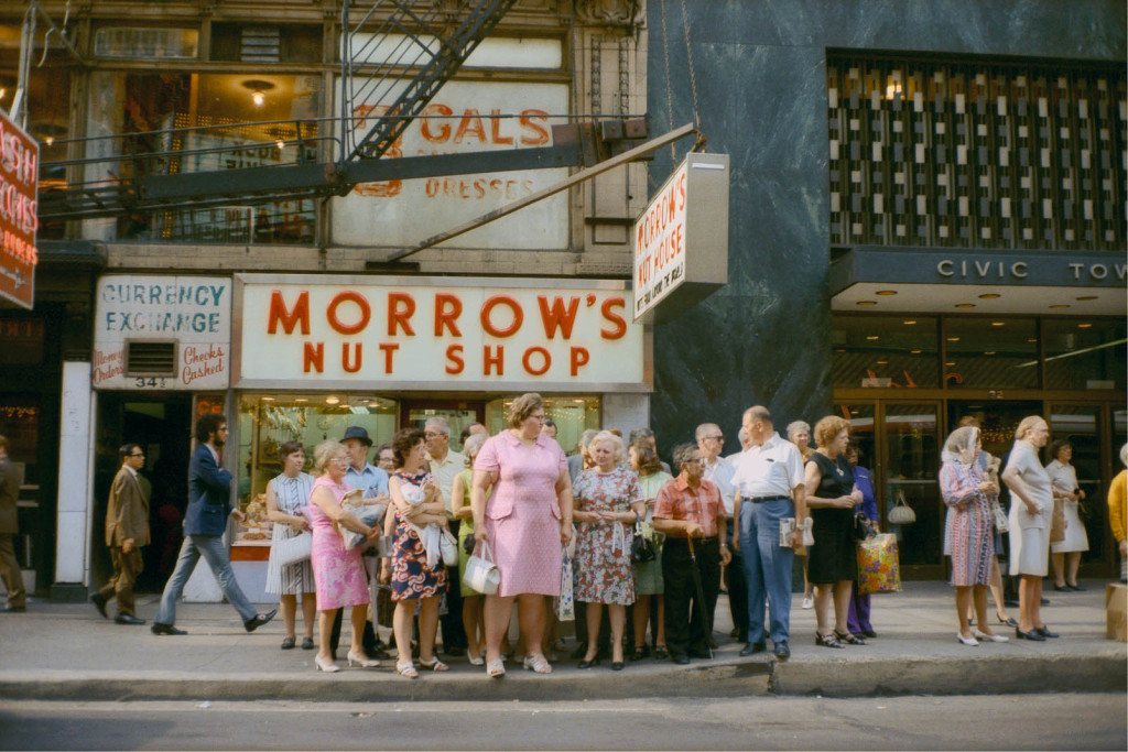 Stephen Shore, tourists, retro photography, United States