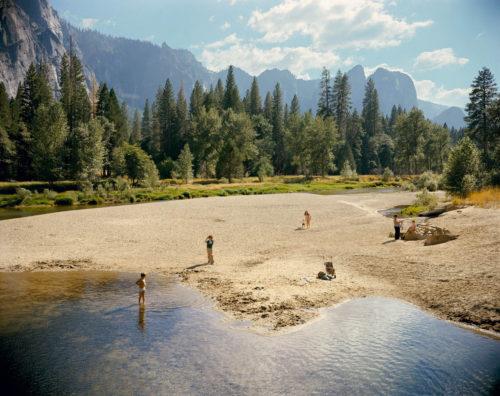Stephen Shore, lake, retro photography, United States