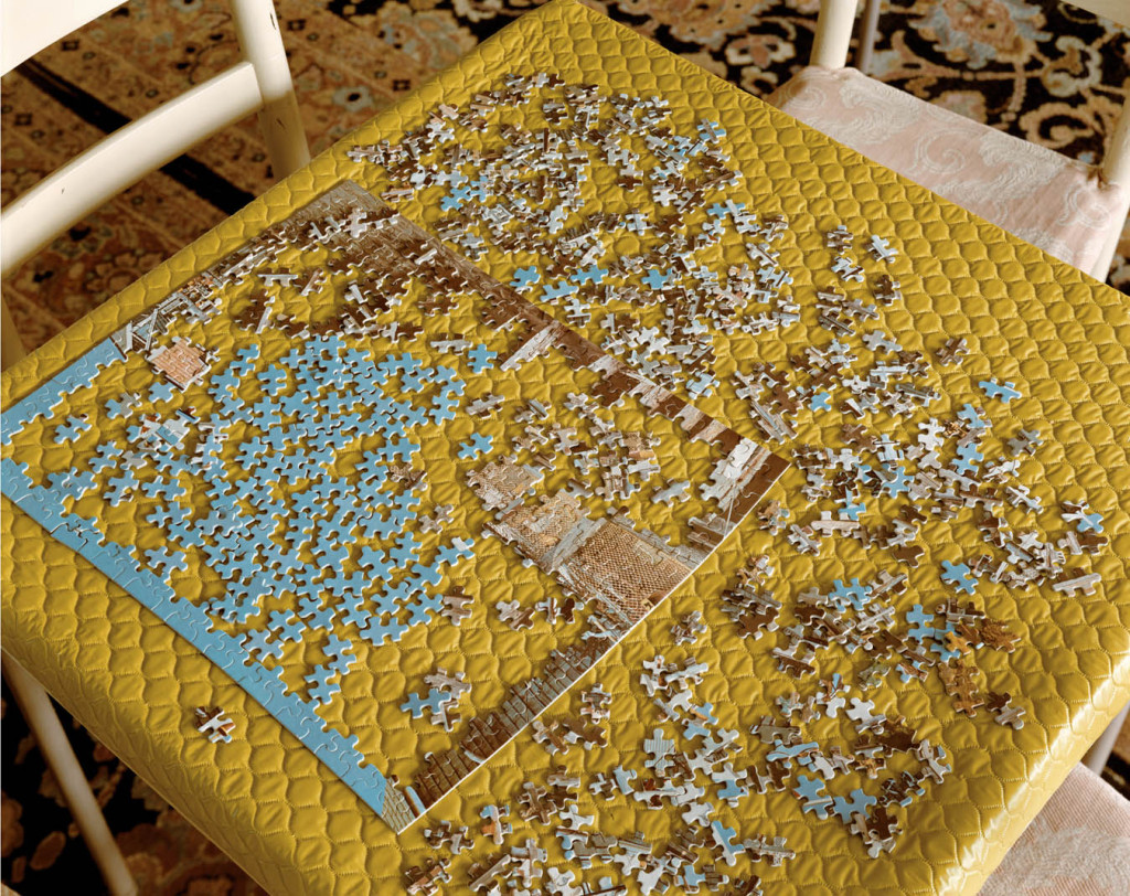 Stephen Shore, jigsaw puzzle, retro photography, United States