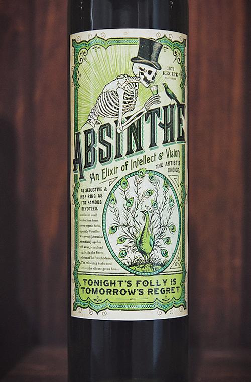 Absinthe Drink Label