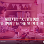 New Barbie commercial