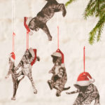 Falling cats ornaments