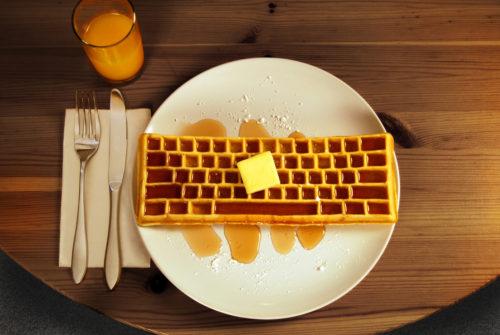 Keyboard Waffle Iron1