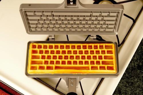 Keyboard Waffle Iron2