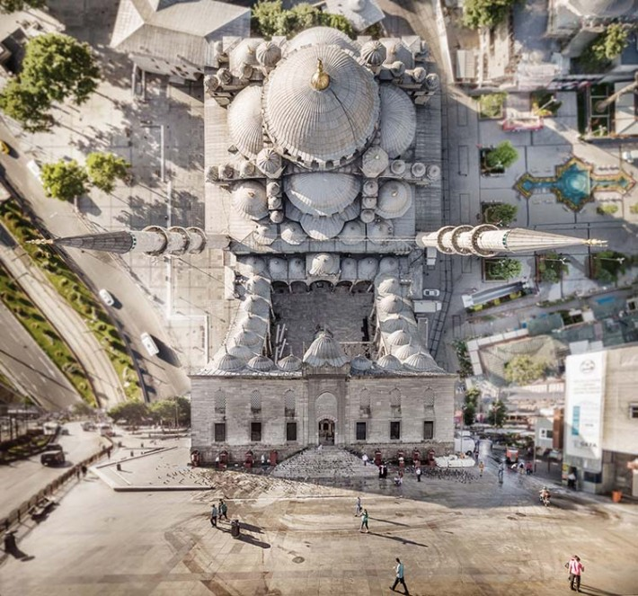 Surreal City Landscapes of Turkey Aydın Büyüktaş