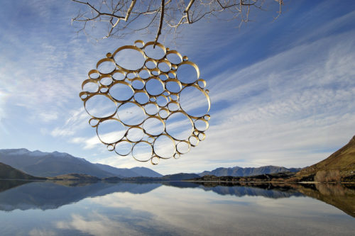 Martin Hill sculptures Circle Of Circles
