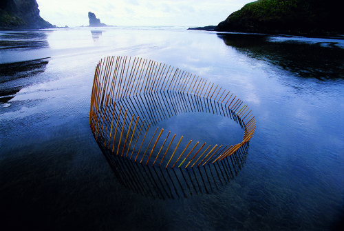 Martin Hill sculptures Rising Circle