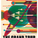 Space tourism posters for NASA