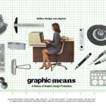 How graphic design production was