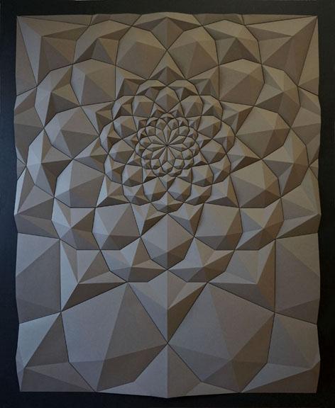 Matthew Shlian Ara165 Paper sculptures