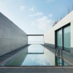 Minimalist hotel by Tadao Ando