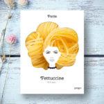 Pasta hair