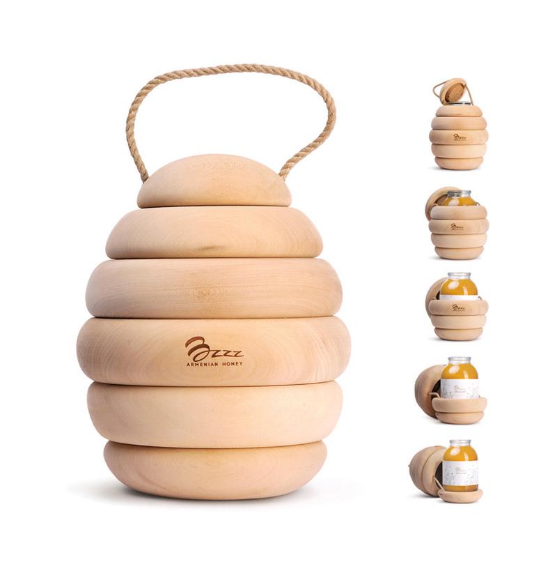 bzzz honey packaging, Backbone Studio