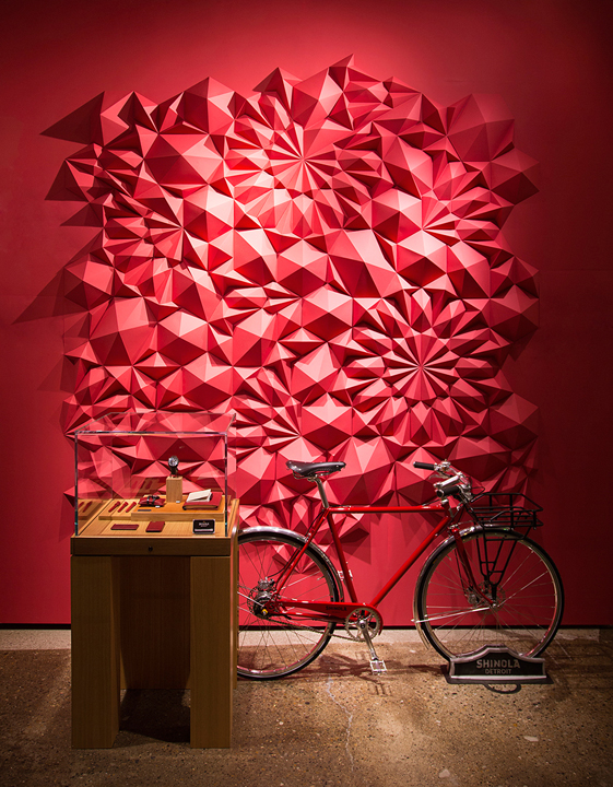 shinola Matt Salian Paper sculptures
