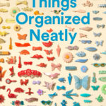 Things organized neatly in a book