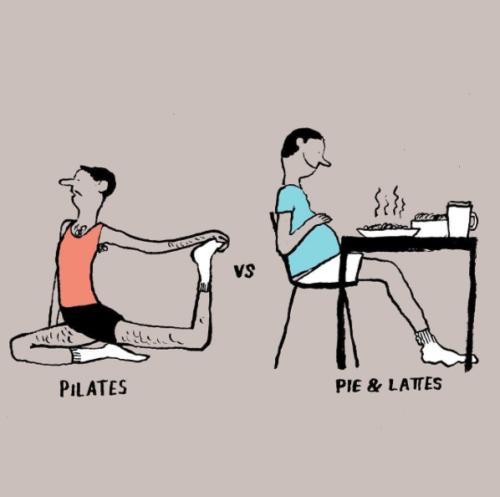 Jean Jullien pilates